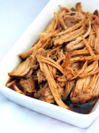 A dish of Pulled Pork
