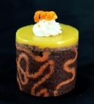 Chocolate & Orange Mousse Cake