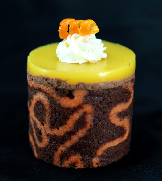 Chocolate & Orange Mousse Cake
