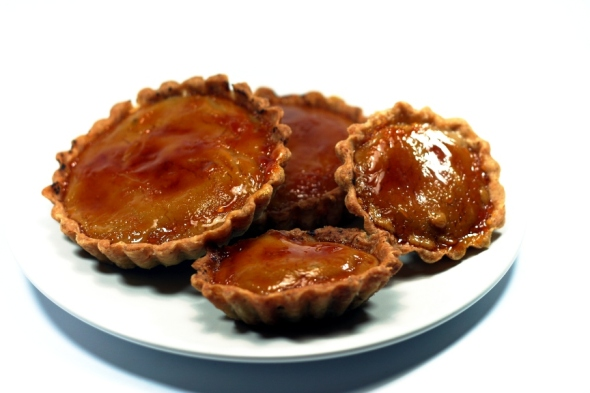 Butterscotch Brulee Tarts