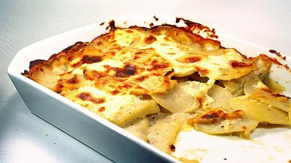 Quick Potato Dauphinoise
