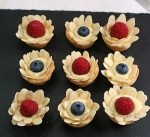Flower Fruit Tarts