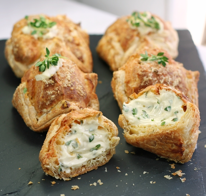 Cheese-filled Gougeres