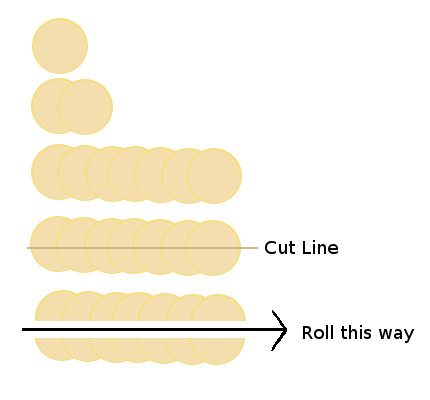 Rose Rolls Assembly Instructions