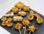 Flaky Pastry Canapes