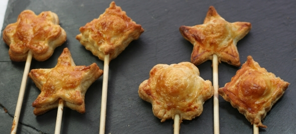 Mini Pies onna Stick