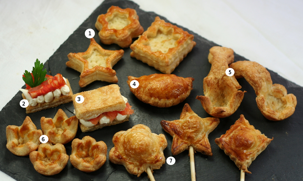 October 2013 time to cook online for How to make canape cases