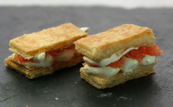 Savoury Mille Feuille