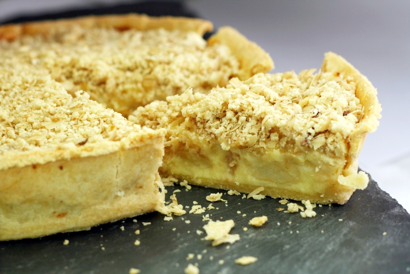 Creamy Apple Crunch Pie