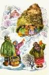 OCTAVIA TARALUNGA - ilustratii din ISPRAVILE lui GUGUTA de SPIRIDON VANGHELI Editura Ion Creanga 1985 07