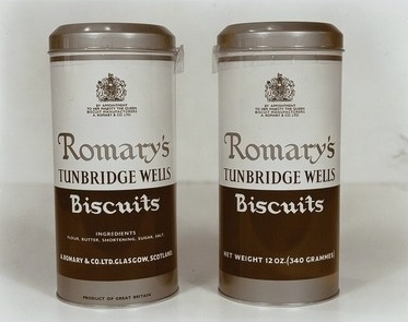 Romary Biscuit Tins