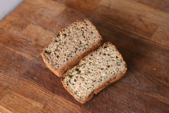 Brown Wholemeal Cucumber Bread
