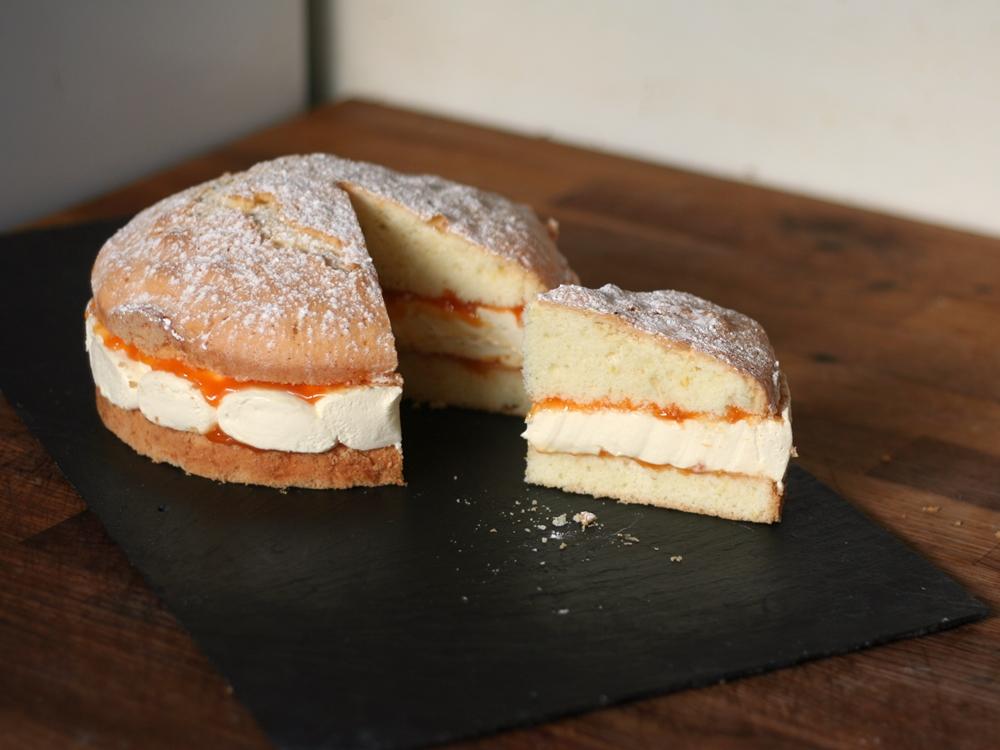 Snow Cake Recipe Potato Flour