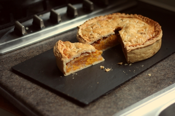 Apple Butternut Squash Pie