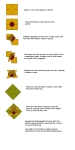 Pastry folding instructions graphic