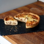 roasted cauliflower quiche
