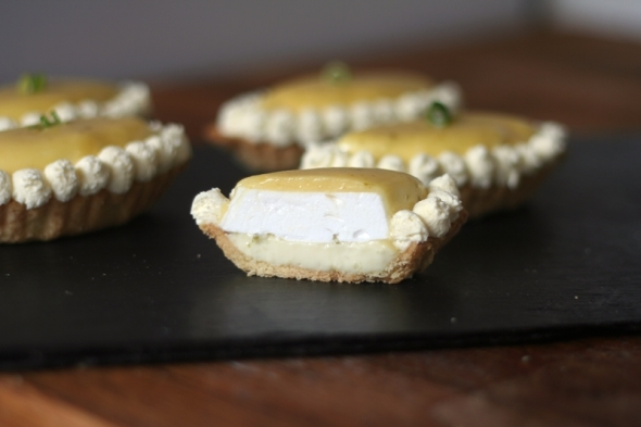 Lime Meringue Pies