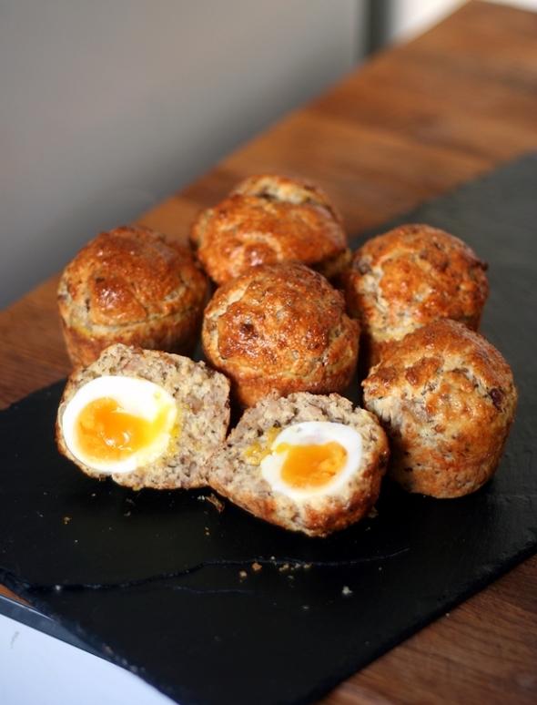 Scone Eggs