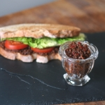 BLT with Bacon Jam