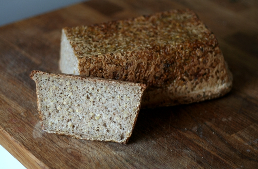 Cracked Wheat Loaf