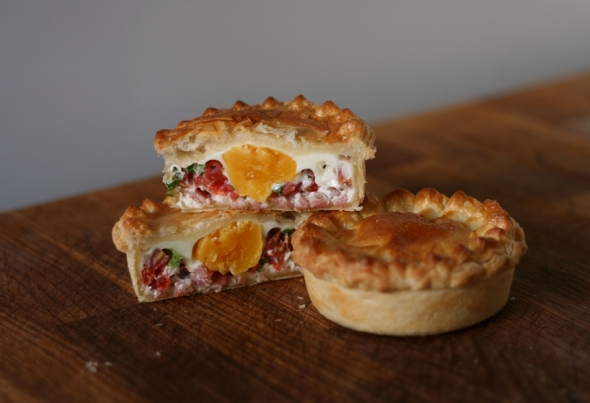 bacon egg pie