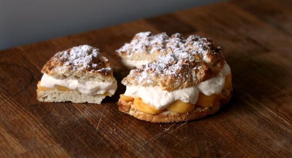 Flat Peach & Nectarine Shortcake