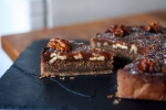 Walnut and Coffee Caramel Tart