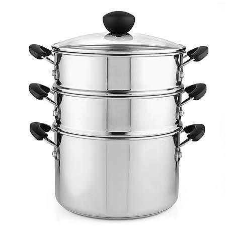 steamer saucepan set