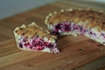 Blackcurrant & Basil Tart