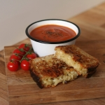 Tomato soup & Toasted Sandwich