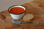 Tomato Soup and Oatcakes