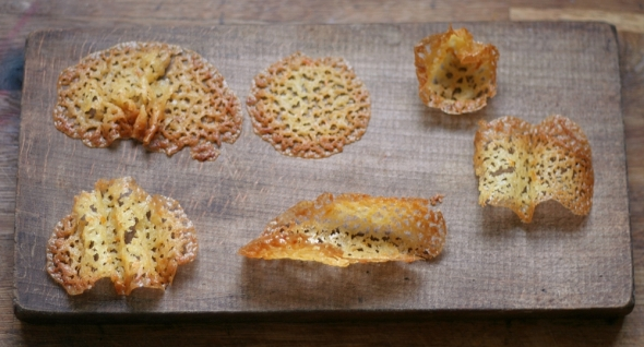 Lace Biscuit Shapes