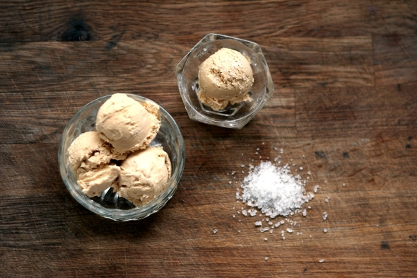 Salted Caramel Ice-Cream