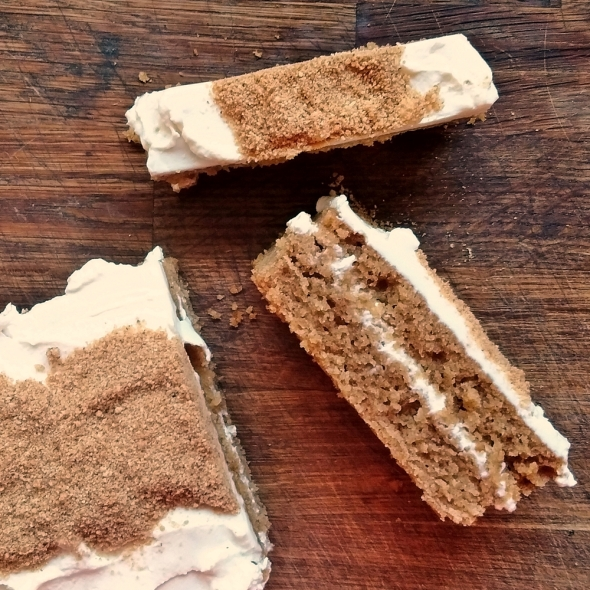 Digestive Biscuit Cake