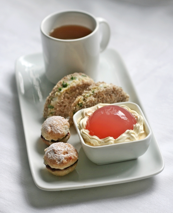 Rhubarb Jelly Afternoon Tea