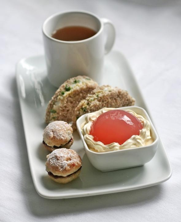 Rhubarb Jelly Afternoon Tea