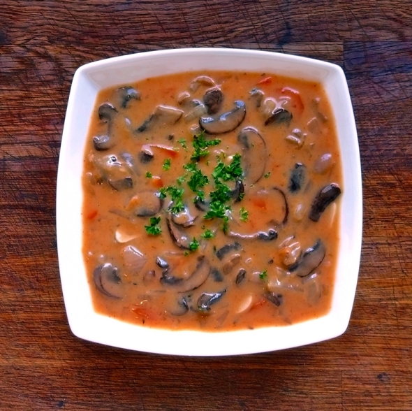 Hungarian Mushroom Soup1